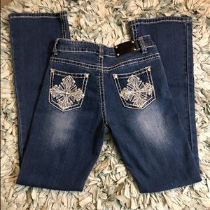 Wired heart kids jeans
